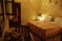 Chambre double dans riad de charme à Marrakech