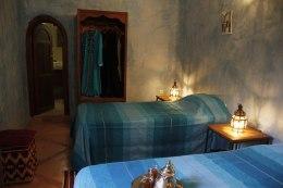 Chambre familiale au Riad Azenzer