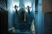 Chambre familiale au Riad Azenzer avec piscine