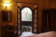 Chambre double supérieur dans un riad avec piscine à Marrakech