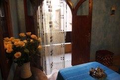Chambre triple familiale au riad Azenzer, riad de charme à Marrakech