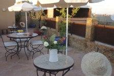 Terrasse au riad Azenzer
