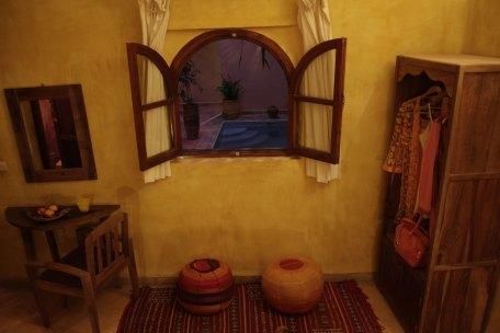 Chambre supérieure dans riad avec piscine à Marrakech