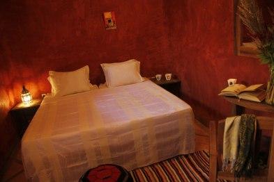 Chambre double standard au Riad Azenzer, riad avec piscine dans la Medina de Marrakech