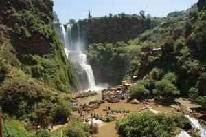 Randonnée à la journée depuis Marrakech, cascades d'Ouzoud et ses sources