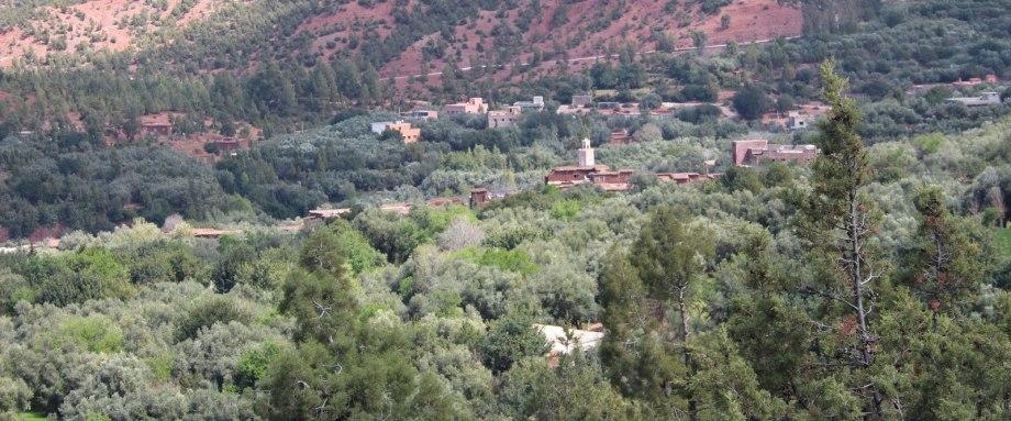 Aazab Aventure et le Riad Azenzer vous emmène marcher dans la vallée de Ouirgane, Marrakech, Maroc