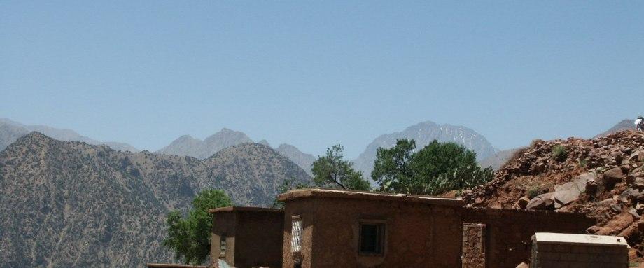 Mini trek dans la vallée du Zat et sur le plateau du Yaggour